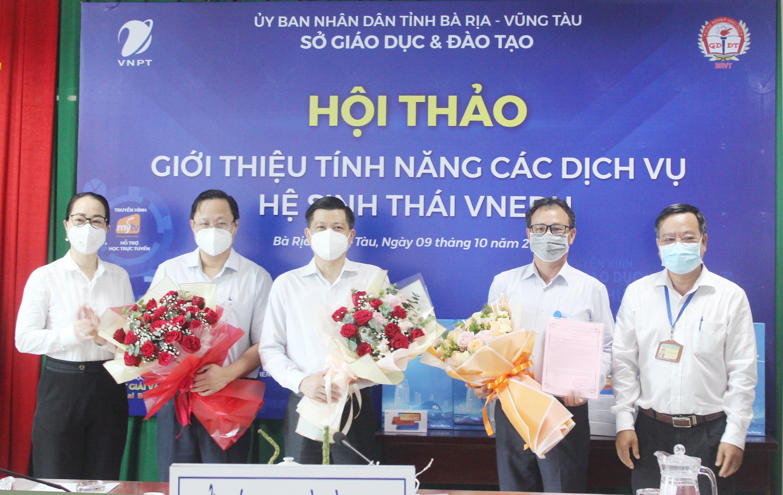 """VNPT Bà Rịa-Vũng Tàu tài trợ hơn 5,2 tỷ đồng cho chương trình """"Sóng và máy tính cho em"""""""